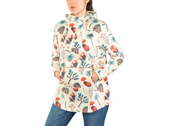 The North Face Printed Fanorak Jacket Women, vintage white joshua tree print
